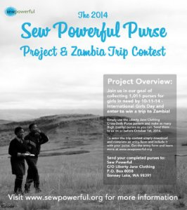 Sew Powerful Zambia Trip