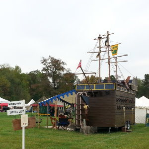 SCA Pirate Ship Camper