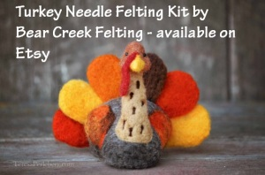 Bear Creek Felting Turkey Kit